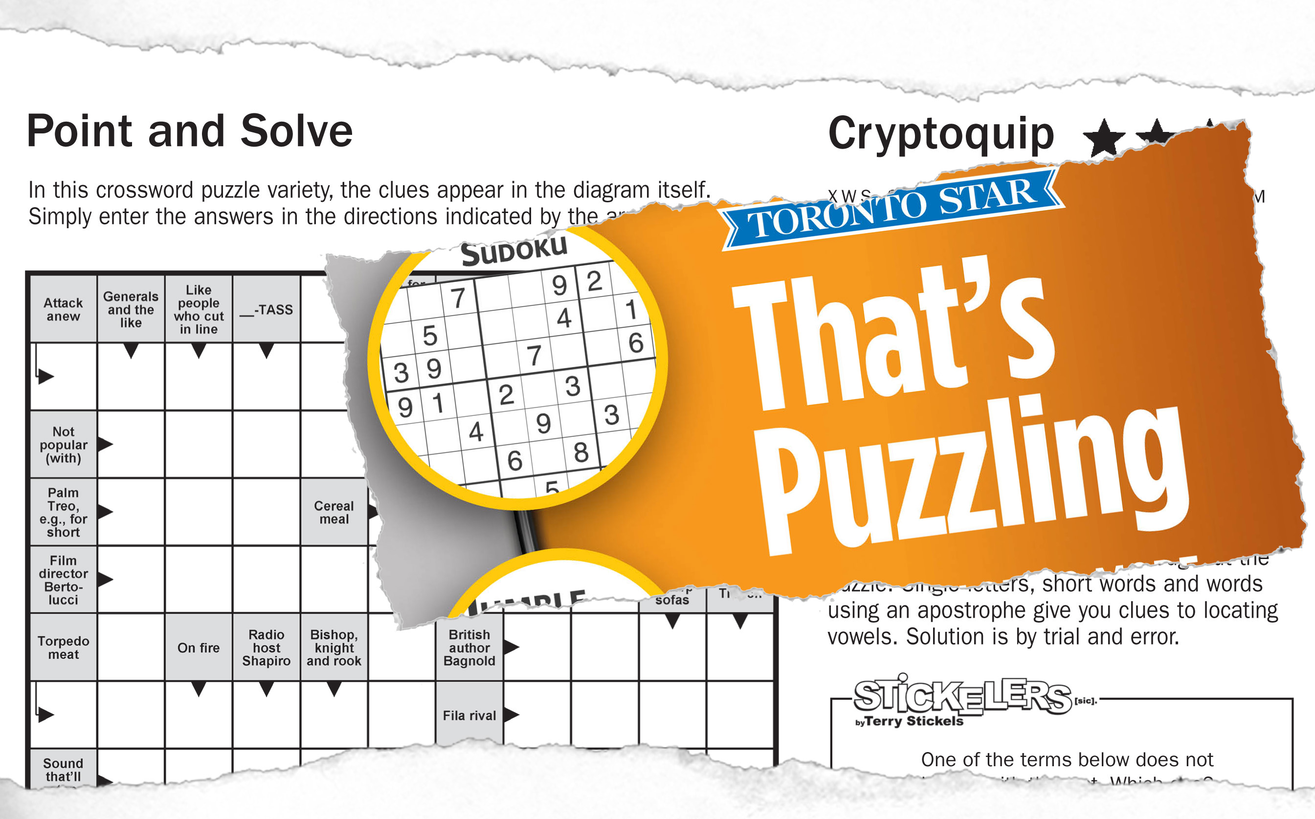 Puzzle books torstar syndication services use puzzle books to generate revenue ccuart Gallery